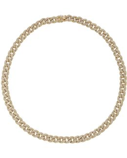 Small Pave Link Necklace