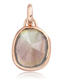 Siren Medium Bezel Pendant