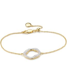 Riva Diamond Circle Chain Bracelet