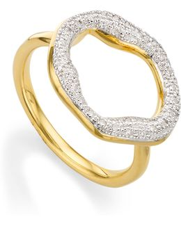 Riva Diamond Circle Ring