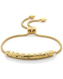 Esencia 18ct Gold-plated Scatter Chain Bracelet - For Women