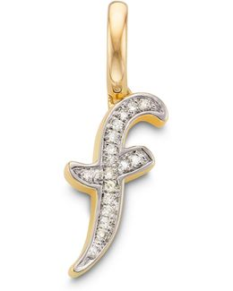 Diamond Alphabet Pendant L