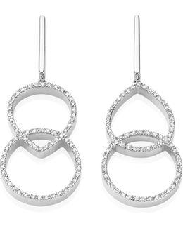 Naida Kiss Open Cocktail Earrings