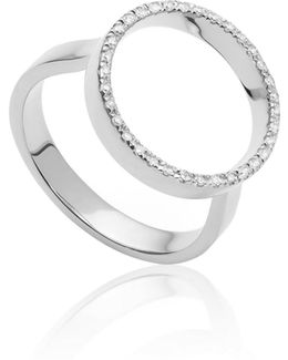 Naida Circle Open Ring