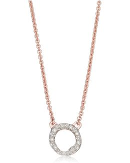 Riva Mini Circle Necklace
