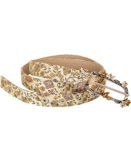 Silk Jacquard Belt