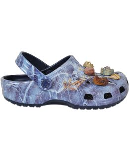 Multi Stone Crocs