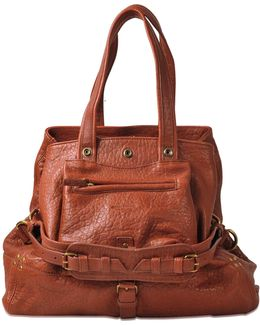 Billy M Bag In Bubble Lambskin