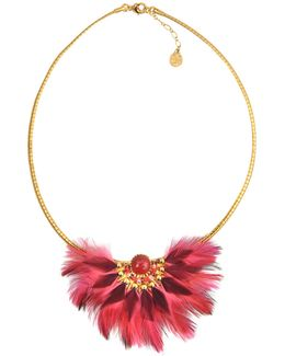 Gaia Feather Necklace