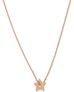 Open Star On Chain Necklace