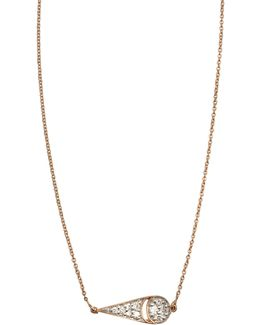 Mrs Joe Tiny Diamond On Chain Necklace