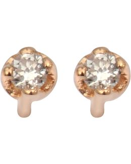 Mini Diamond Clip Earrings