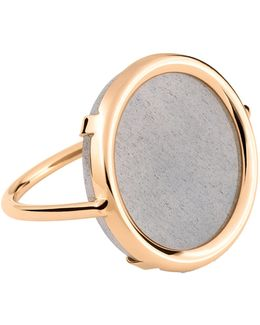 Ever Moonstone Disc Ring