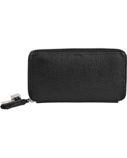 Nine Continental Zipped Wallet