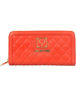 Wallet Zip Around Quilted