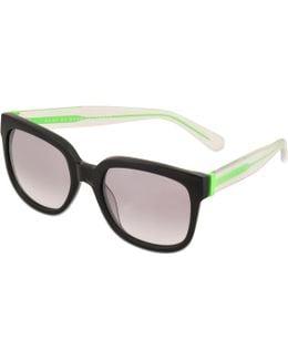Mmj 361/s Black Reflective Sunglasses