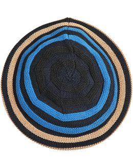 Stripes Wool Beret
