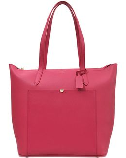 Panama North South Leather Tote
