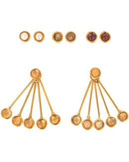 Les Infidèles Ear Jacket Set Of Earrings