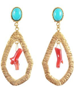 Corail Drop Earrings