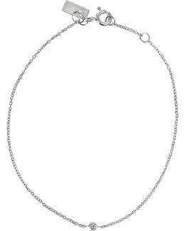 One 18-karat Gold And Diamond Bracelet