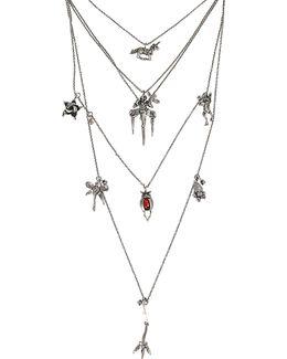 Botanik Multi Row Necklace