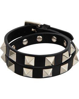Rockstud Choker And Double Bracelet