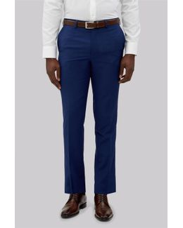 Slim Fit Bright Blue Trousers