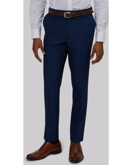 Slim Fit Blue Trousers