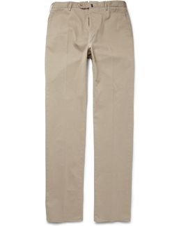 Four Season Relaxed-fit Cotton-blend Chinos