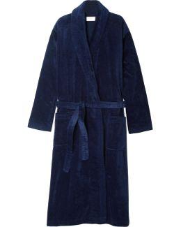 Cotton-terry Robe