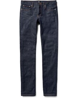 Petit Standard Slim-fit Dry Selvedge Denim Jeans