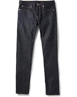 Petit New Standard Slim-fit Dry Selvedge Denim Jeans