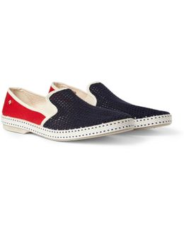 Cotton Slip-on Shoes