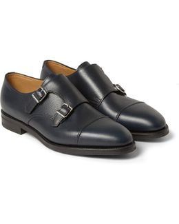 William Ii Full-grain Leather Monk-strap Shoes