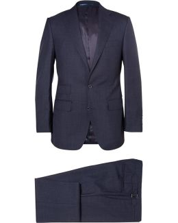 Navy Weighhouse Wool Suit