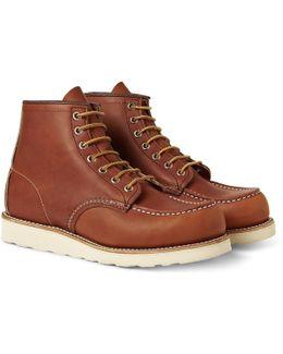 6 Inch Moc Toe Boot