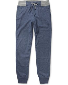 Silk And Cashmere-blend Sweatpants