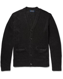 Knitted Linen Cardigan