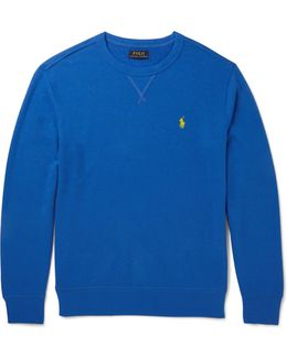 Loopback Cotton-blend Sweatshirt