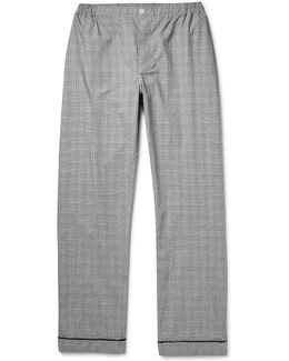 Marcel Glen-plaid Checked Cotton Pyjama Trousers