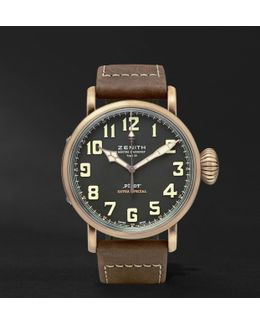 Pilot Type 20 Extra Special 45mm Bronze And Nubuck Watch
