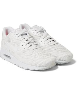 Air Max 90 Ultra Br Perforated Mesh Sneakers