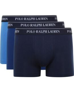 Three-pack Stretch-cotton Jersey Boxer Briefs