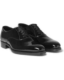 + George Cleverley Patent-leather Oxford Shoes