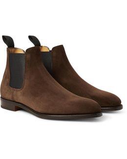 Lawry Suede Chelsea Boots