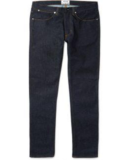 Max Raw Slim-fit Stretch-denim Jeans