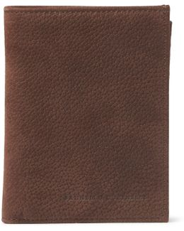 Full-grain Nubuck Billfold Wallet