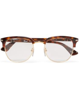 Round-frame Tortoiseshell Acetate Optical Glasses