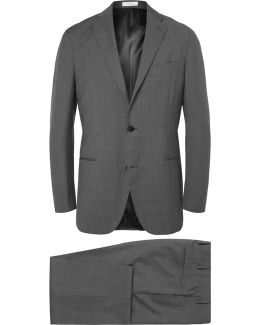Grey Slim-fit Virgin Wool Suit
